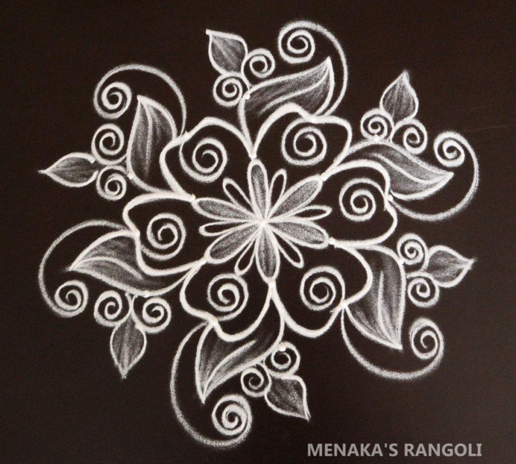 Vara MahaLakshmi Festival Rangoli Design