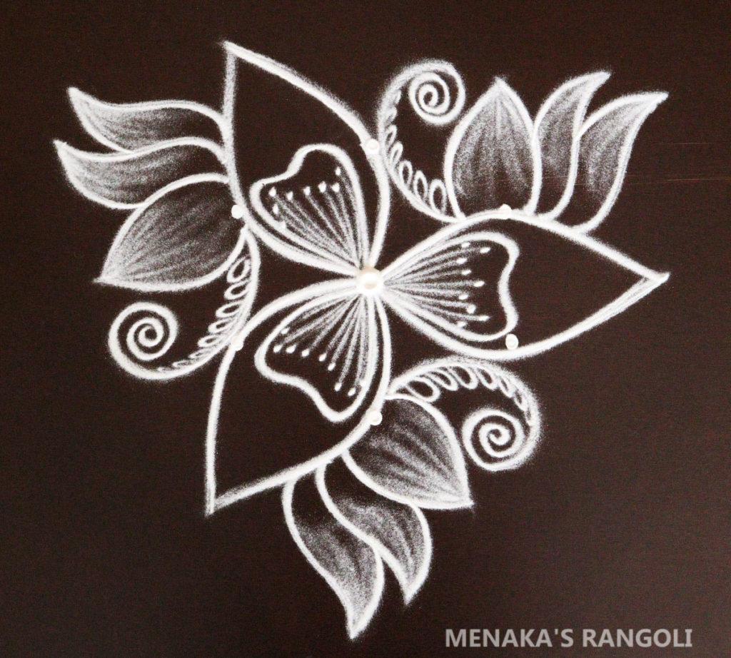 varamaha lakshmi festival rangoli design