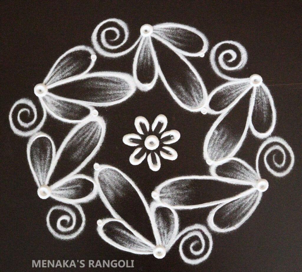 Small Rangoli Design