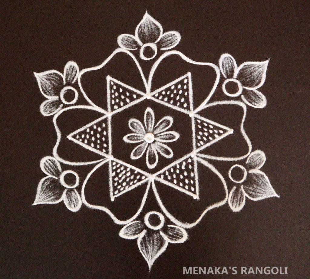 Rangoli For Lakshmi Festival