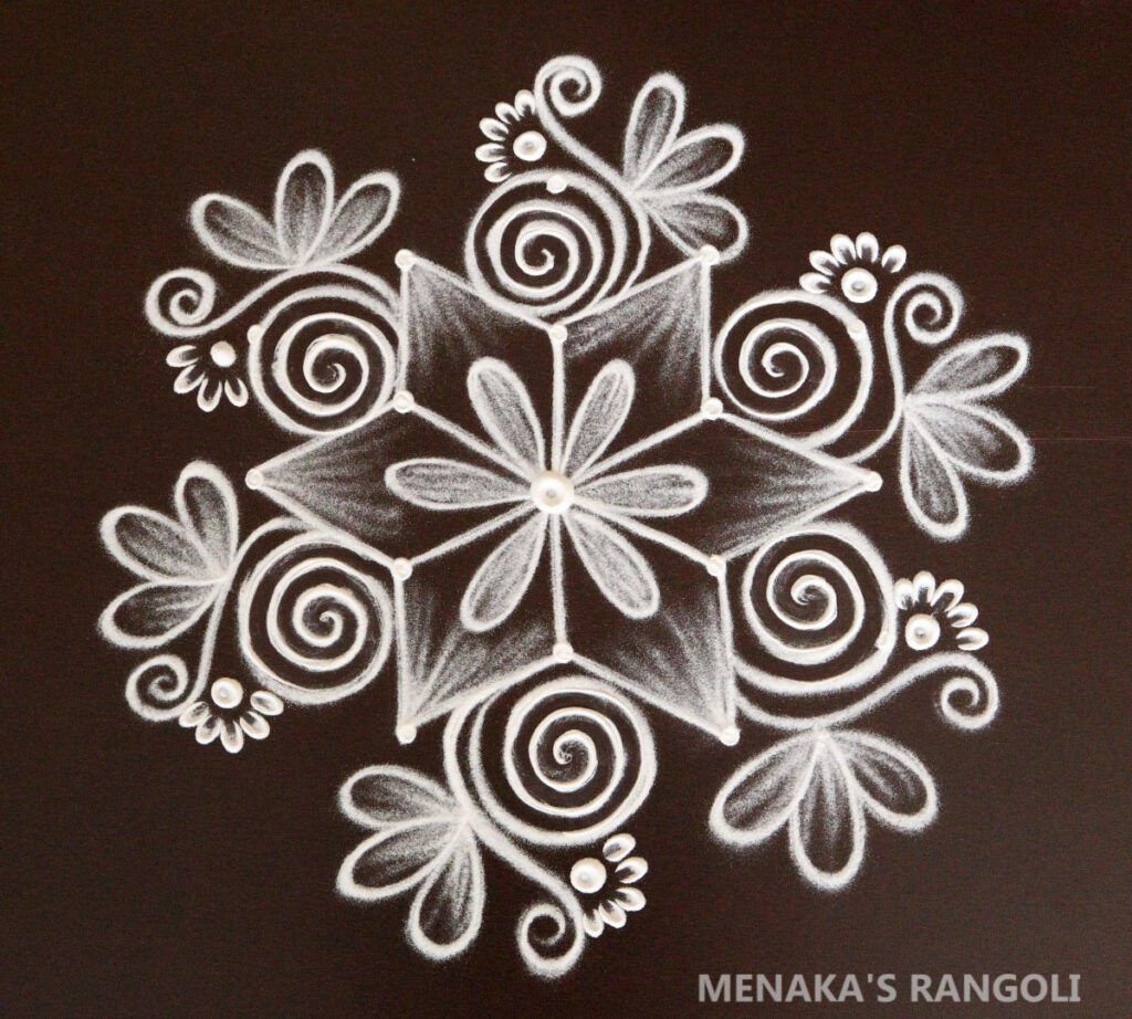 Rangoli Images with dots