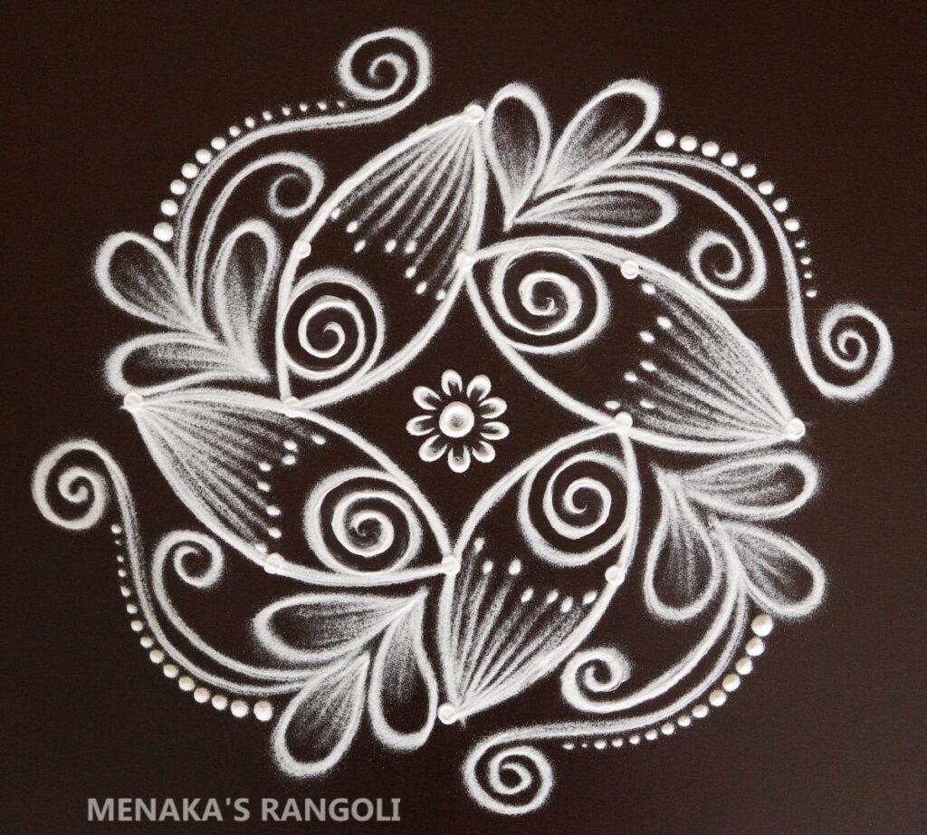 Rangoli For Ganesha Chaturthi