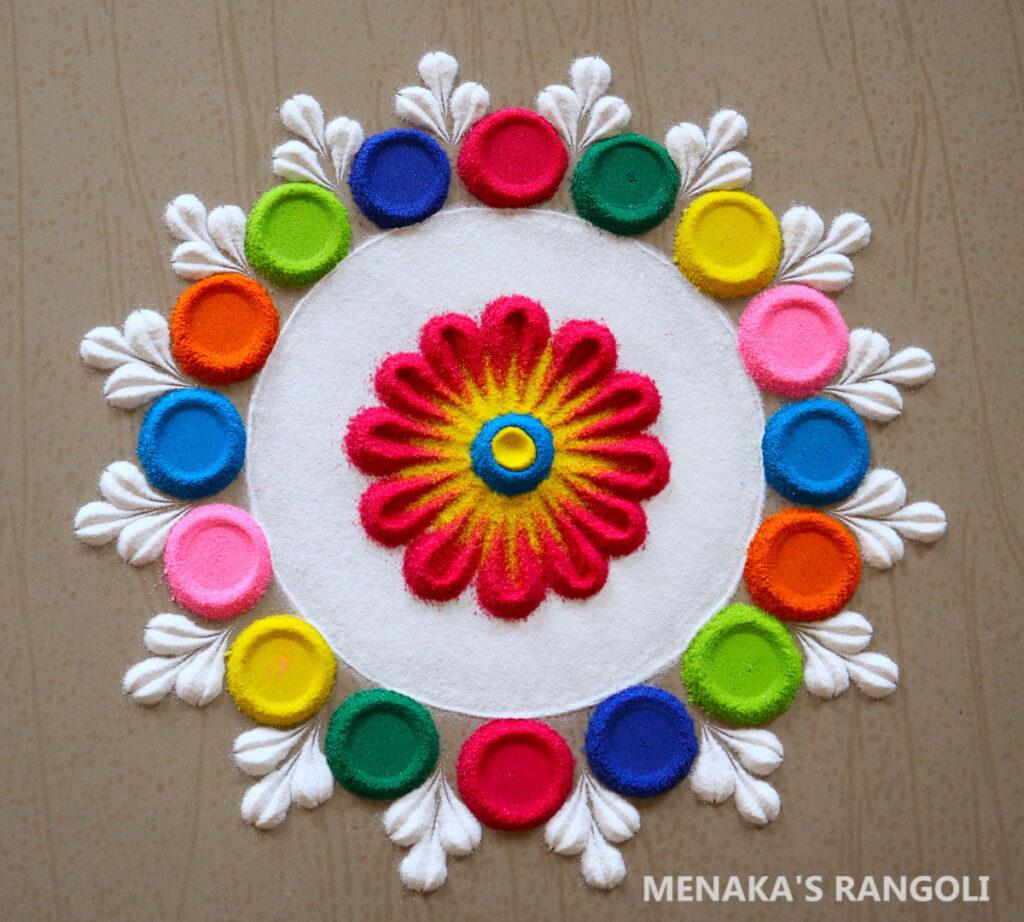 Small Rangoli Images For Diwali