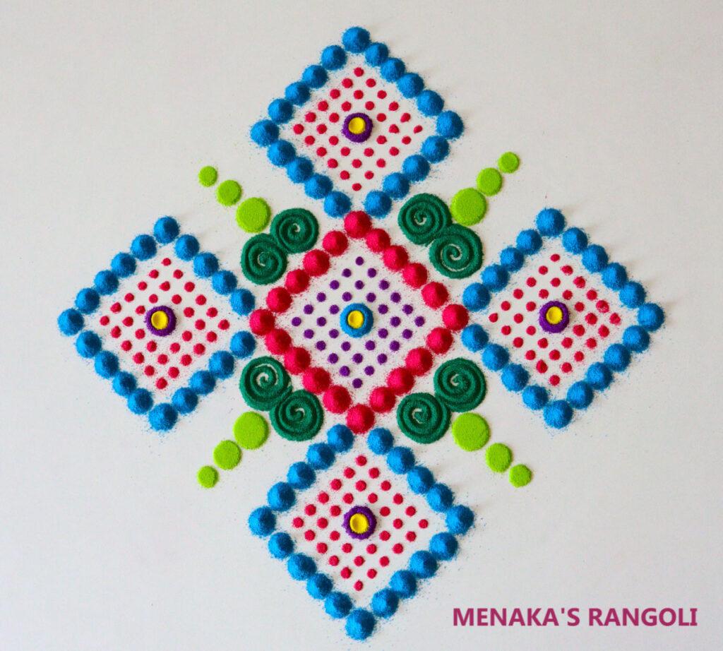 Navratri Rangoli Designs