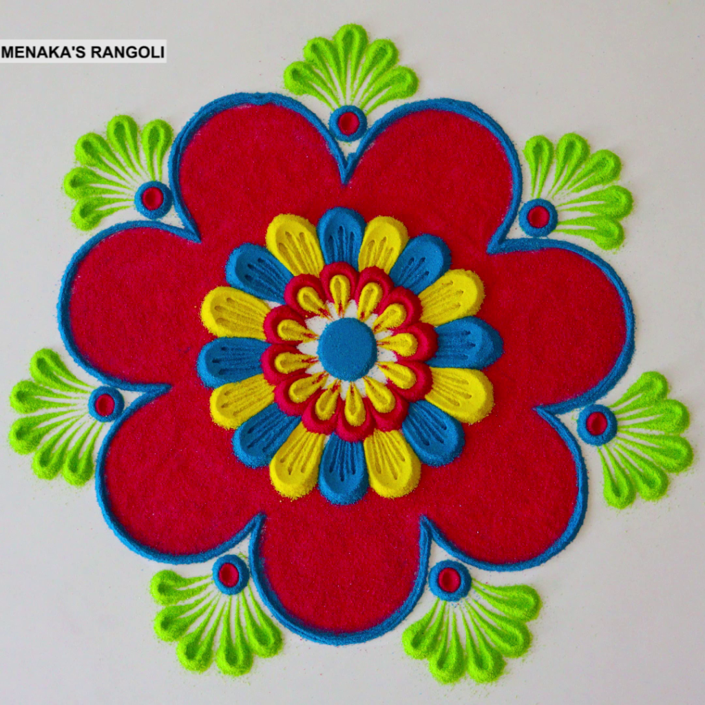 Kolam Designs For Deepavali