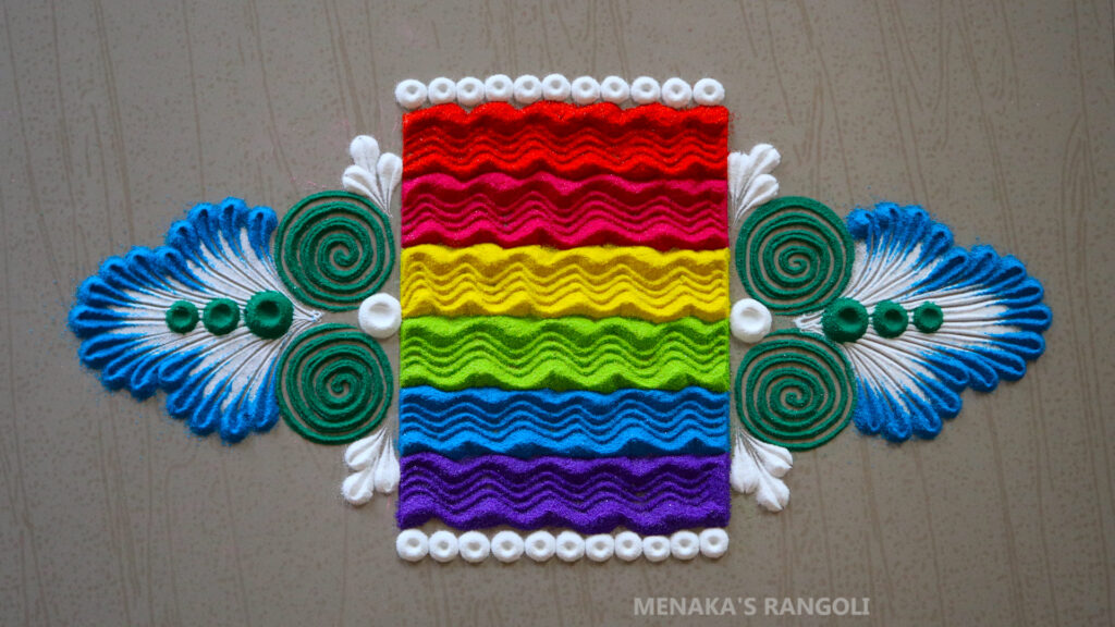 Rangoli For Deepavali