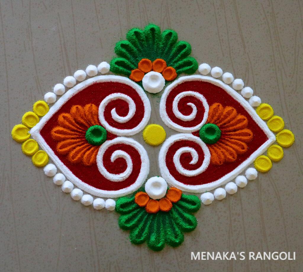 Door Kolam Design