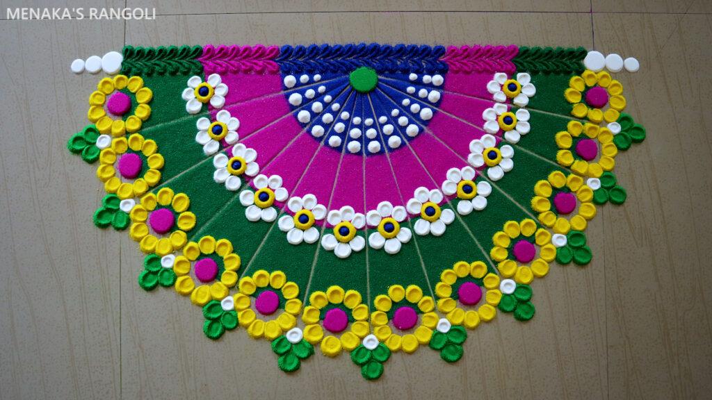 Door Rangoli Designs