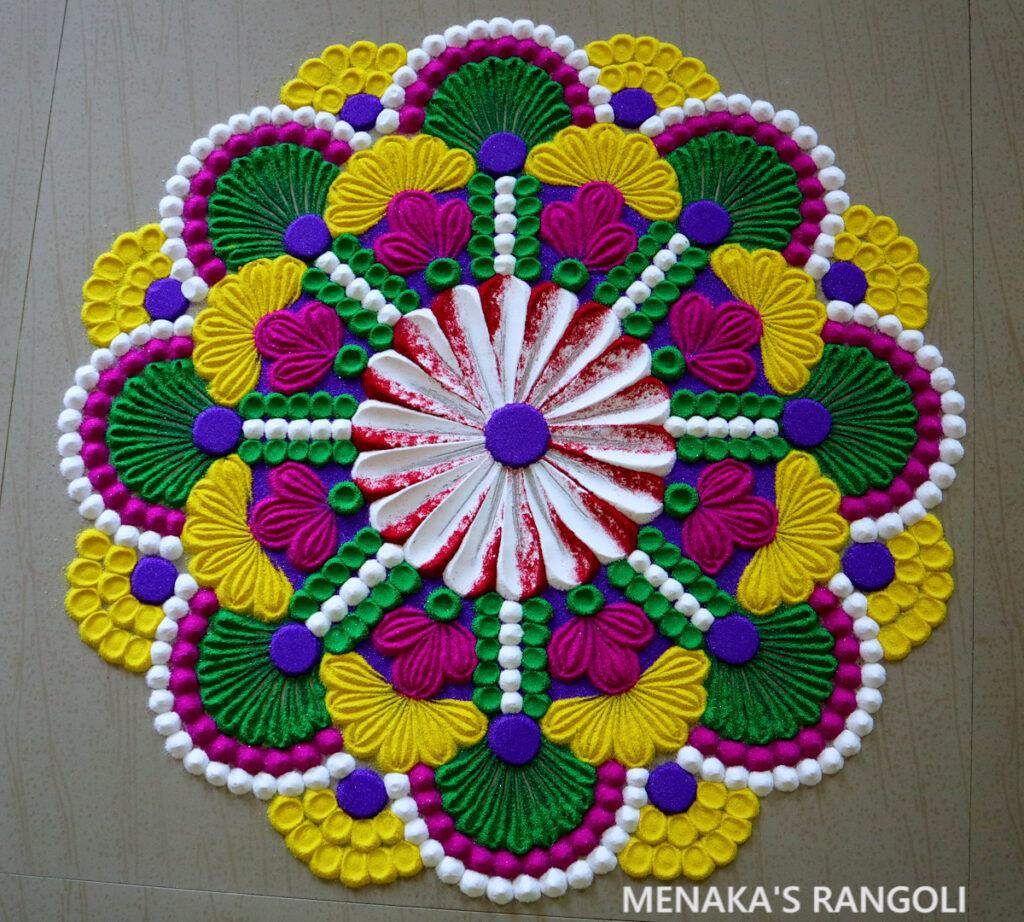 Big Rangoli Designs